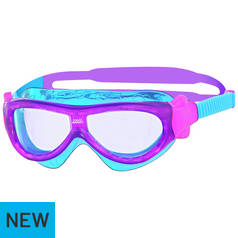 432c6413f300 Add Zoggs Panorama Clear Smoke Goggles - Adults. to Trolley. Zoggs Phantom  Kid s Mask Swimming Goggles - Purple and Blue