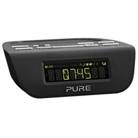 Pure Siesta Mi Series 2 DAB+/FM Alarm Clock Radio - Black