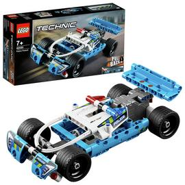 LEGO Technic Police Pursuit 4x4 Toy Car Model - 42091