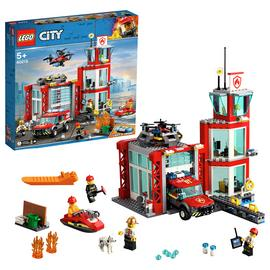 LEGO City Fire Station Building Set - 60215 Best Price, Cheapest Prices