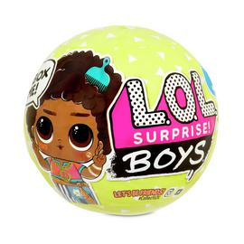 LOL Surprise! Boys Character Doll with 7 Surprises