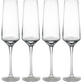Habitat Hamburg Set of 4 Champagne Flutes