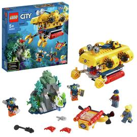 LEGO City Ocean Exploration Submarine Deep Sea Set- 60264 Best Price, Cheapest Prices