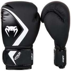 Venum Contender 2.0 Black and Grey Boxing Gloves