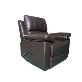 Argos Home Toby Faux Leather Rise & Recline Chair -Chocolate