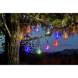 Habitat Neon Effect Bulb Solar String Light