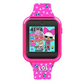 LOL Surpise Pink Silicone Strap Watch