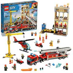 LEGO City Fire Downtown Fire Brigade Building Set - 60216