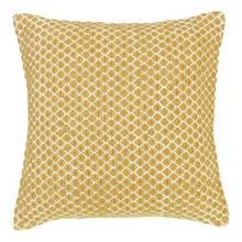 Argos Home Global Mustard Diamond Cushion
