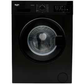 Bush WMNB912EB 9KG 1200 Spin Washing Machine - Black