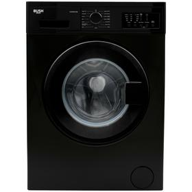 Bush WMNB912EB 9KG 1200 Spin Washing Machine - Black Best Price, Cheapest Prices
