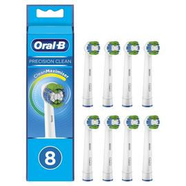 Oral-B Precision Clean Electric Toothbrush Heads - 8 Pack