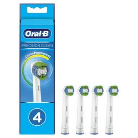 Oral-B Precision Clean Electric Toothbrush Heads - 4 Pack