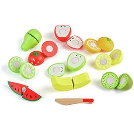 Chad Valley Wooden Fruit Set