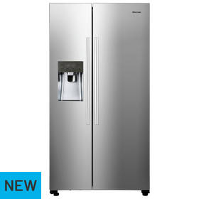 Hisense RS696N4IC1 Fridge Freezer - Stainless Steel