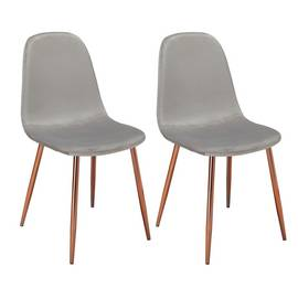 Dining Chairs Fabric Wooden Amp Metal Dining Chairs Argos
