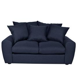 Argos Home Billow 2 Seater Fabric Sofa - Blue