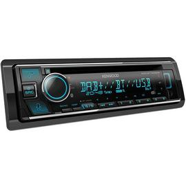 Kenwood KDC-BT740DAB Bluetooth DAB Car Stereo with Alexa