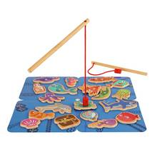Chad Valley Wooden Fishing Set
