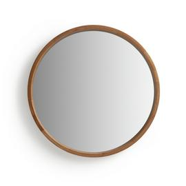 Argos Home Holt Deep Round Mirror - Oak Effect