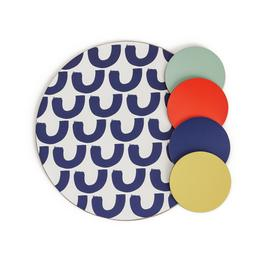 Habitat Mix it up Placemat and Coaster Set