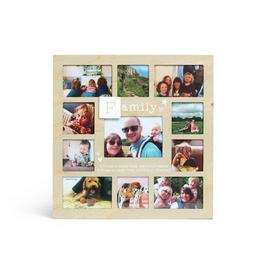Family Multi Aperture Photo Frame