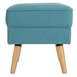 Argos Home Callie Fabric Footstool - Teal