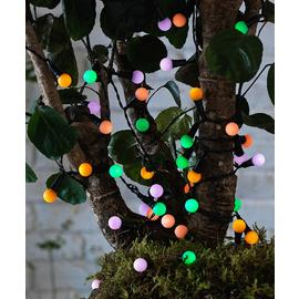 Argos Home 50 Multicoloured Berry Solar String Lights