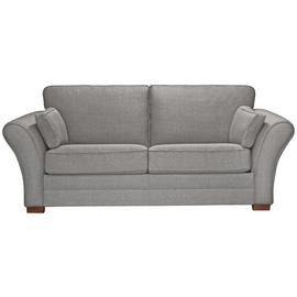 Argos Home Thornton 3 Seater Fabric Sofa Bed -Light Grey