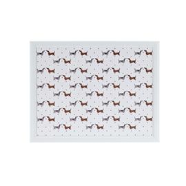 Argos Home Spotty Dachshund Lap Tray