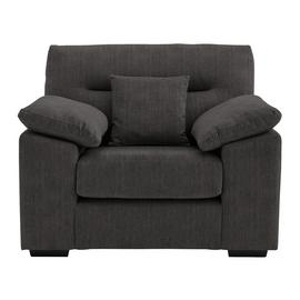 Argos Home Donavan Fabric Armchair - Charcoal