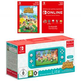 Nintendo Switch Lite Animal Crossing Console - Turquoise