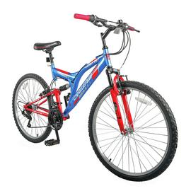 Challenge Orbit 26Inch Wheel Size Bike - Red and Blue