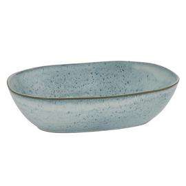Habitat Olmo Oval Bowl - Light Blue