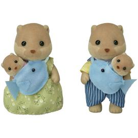 Sylvanian Families Wooly Otter Family