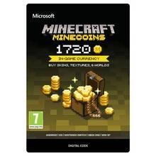 Minecraft 1720 Minecoins Voucher Card