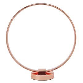 Argos Home Cole LED Table Lamp - Rose Gold