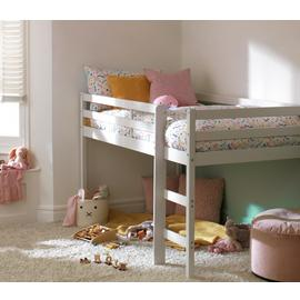 Argos Home Kaycie White Midsleeper & Kids Mattress