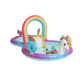 Chad Valley 9.7ft Unicorn Water Activity Centre Pool - 181L