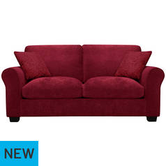 Argos Home Tammy 2 Seater Fabric Sofa bed - Wine