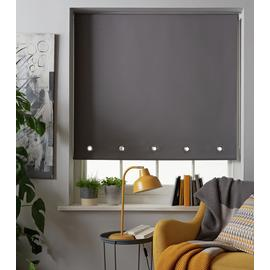 Argos Home Eyelet Daylight Roller Blind - 3ft - Grey