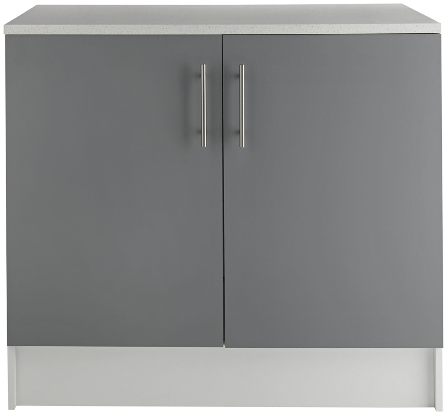 Argos Home Athina 1000mm Fitted Kitchen Base Unit - Grey : kitchen base cabinets cheap - hauntedcathouse.org