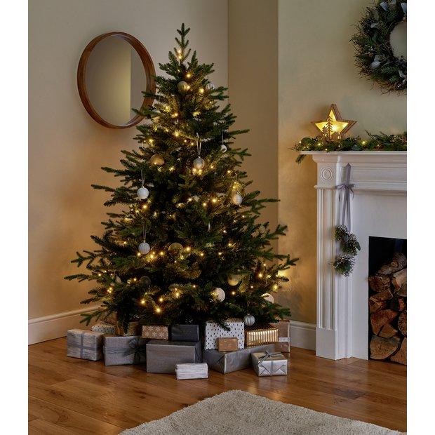 Image Christmas Tree.Buy Argos Home 6ft Mixed Tip Natural Look Christmas Tree Green Artificial Christmas Trees Argos