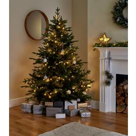 Argos Home 6ft Mixed Tip Natural Look Christmas Tree - Green