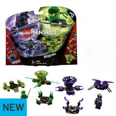 LEGO Ninjago Spinjitzu Lloyd vs Garmado Toy Spinners - 70664
