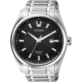 Citizen Men's Silver Titanium Bracelet Watch