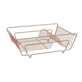 Argos Home Dish Drainer - Rose Gold