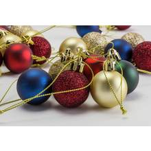 Argos Home 49 Pack of Berry Christmas Baubles