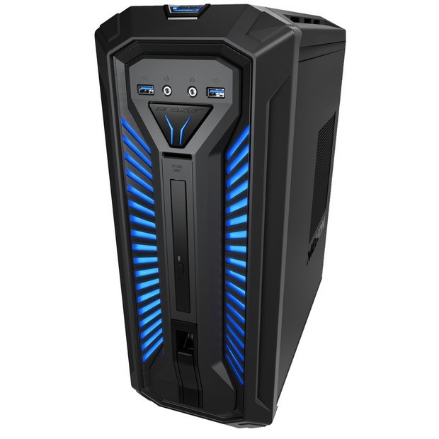Buy Medion Erazer X86003 I7 8GB 1TB 128GB RTX2070 Gaming PC   Desktop  computers and all in ones   Argos