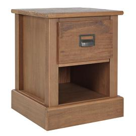 Argos Home Drury 1 Drawer Bedside Table